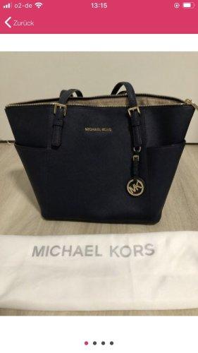Michael Kors Shopper bleu foncé