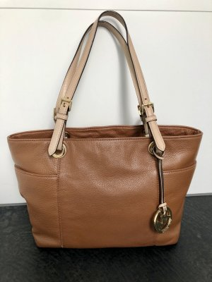 MICHAEL KORS Tasche JET SET TRAVEL Leder braun TOP Zustand