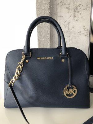 Michael Kors Tasche marine blau neuwertig