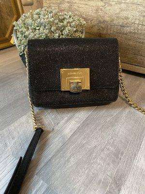 Michael Kors Tasche Michael Kors Umhängetasche schwarz mit Glitzer