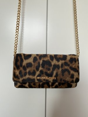 Michael Kors Tasche mit Leopardenprint