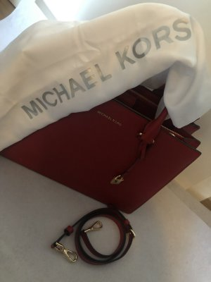 Michael Kors Clutch red leather