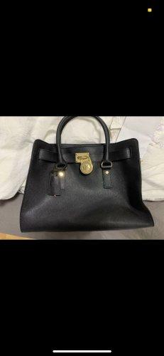 Michael Kors Tasche schwarz Gold neuwertig