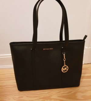 Michael Kors Tasche Shopper Handtasche neu schwarz gold