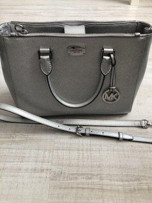 Michael Kors Tasche Silber