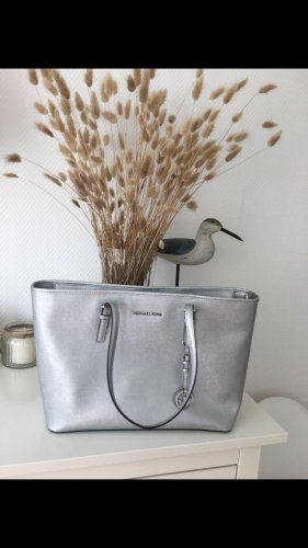 Michael Kors Tasche Travel bag shopper Silber