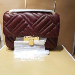 Michael Kors Tasche / Umhängetasche Bordeauxrot