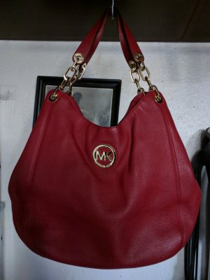 Michael Kors Sac à main rouge