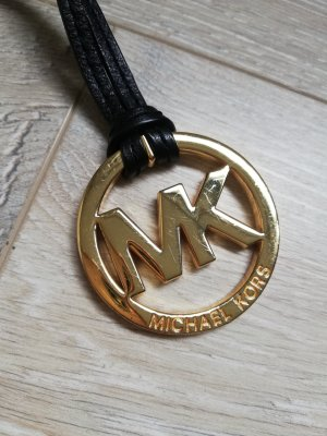 MICHAEL KORS Taschenanhänger/Schlüsselanhänger schwarz/gold No.3