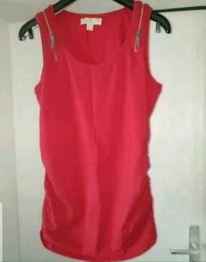 Michael Kors A-lijn top rood-magenta