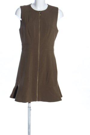 Michael Kors Trägerkleid braun Business-Look