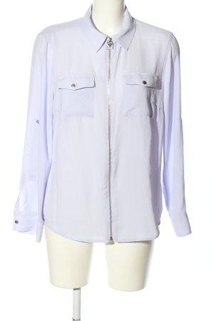 Michael Kors Transparenz-Bluse blau Business-Look