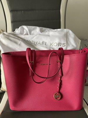 Michael Kors Travel Jet Set ultra pink