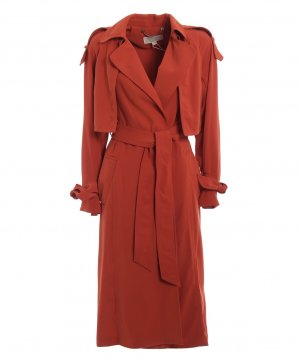 Michael Kors Trench Coat - Orange