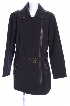 Michael Kors Trenchcoat schwarz Casual-Look
