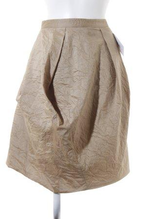 Michael Kors Spódnica w kształcie tulipana beżowy Elegancki