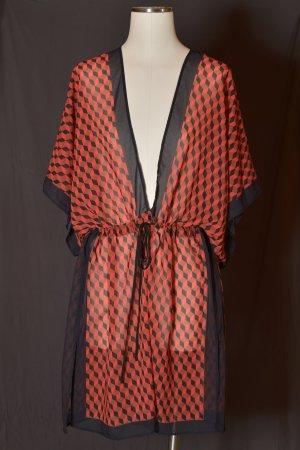 MICHAEL KORS Tunika Beachwear Kimono ungetragen Runway XS/S Korallenfarben