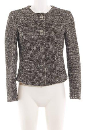 Michael Kors Tweedblazer braun-wollweiß Allover-Druck Business-Look