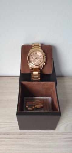 Michael Kors Zegarek analogowy w kolorze różowego złota