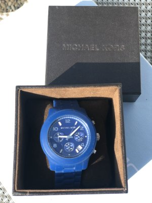 Michael Kors Self-Winding Watch blue