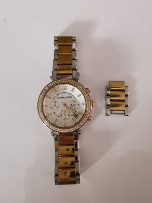 Michael Kors Digital Watch silver-colored-gold-colored mixture fibre