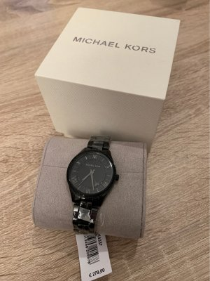 Michael Kors Watch With Metal Strap black