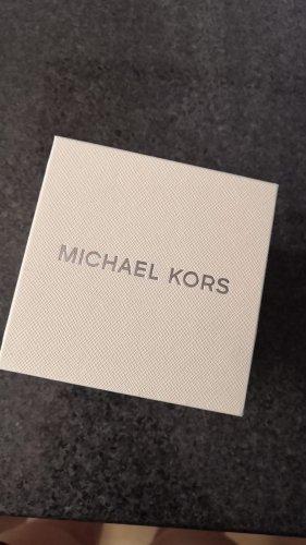 Michael Kors Zegarek z metalowym paskiem srebrny