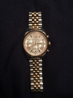 Michael Kors Self-Winding Watch gold-colored-silver-colored