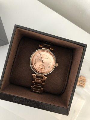 Michael Kors Reloj automático color rosa dorado