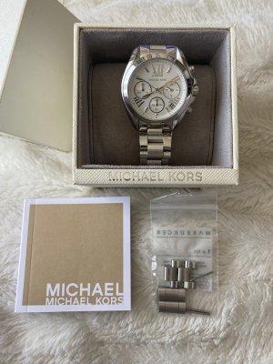 Michael Kors Orologio con cinturino di metallo argento