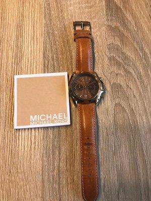 Michael Kors Uhr Armbanduhr braun Gold