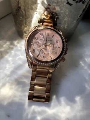 Michael Kors Uhr Armbanduhr Rose Gold Edelstahl