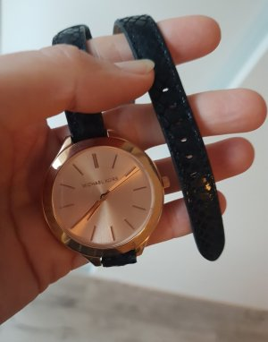 Michael Kors Uhr Armbanduhr schwarz rose