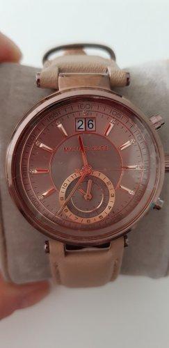 Michael Kors Uhr beige/braun
