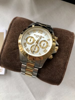 Michael Kors Uhr Bicolor Chronograph *neuwertig*