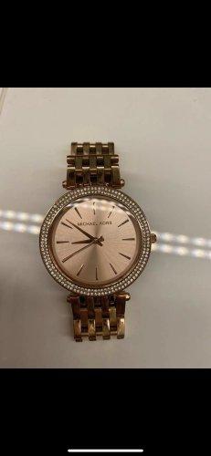 Michael Kors Reloj con pulsera metálica rosa