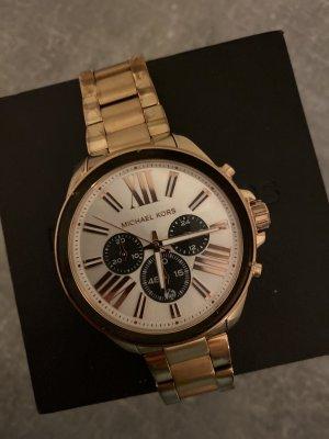 Michael Kors Horloge met metalen riempje goud-roségoud