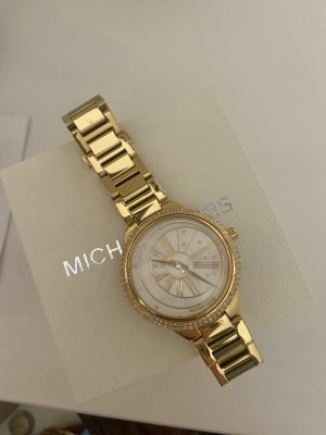 Michael Kors Watch With Metal Strap gold-colored-white