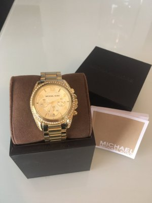 Michael Kors Watch With Metal Strap gold-colored-silver-colored metal