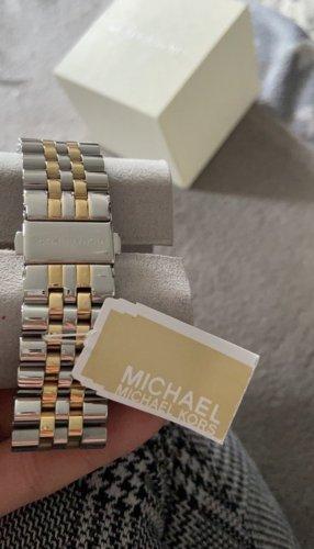 Michael kors uhr Gold Silber