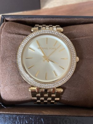 Michael Kors Uhr gold strass