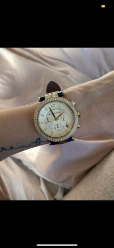 Michael Kors Uhr Marine/Gold