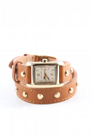 Michael Kors Uhr mit Lederarmband braun Casual-Look