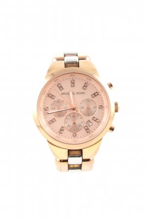 Michael Kors Watch With Metal Strap gold-colored business style