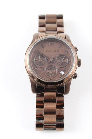 Michael Kors Uhr mit Metallband bronzefarben Casual-Look