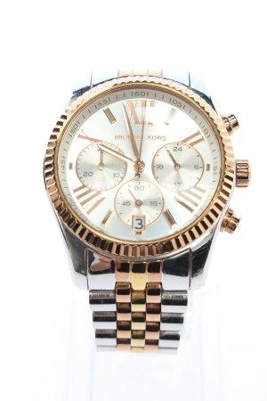 Michael Kors Reloj con pulsera metálica color plata-color oro look casual