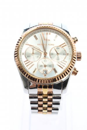 Michael Kors Uhr mit Metallband silberfarben-goldfarben Casual-Look