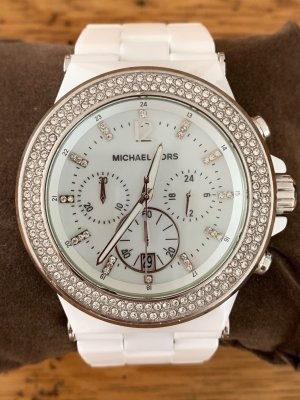 Michael Kors Analog Watch white-silver-colored