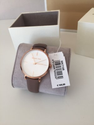 Michael Kors Uhr MK7105 Damenuhr Roségold Taupe Neu Leder