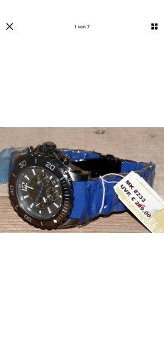 Michael Kors Zegarek automatyczny niebieski-czarny